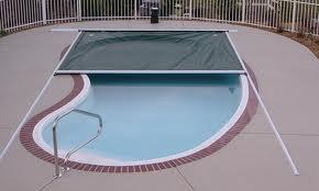 Otomatik havuz örtüsü